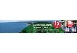 1 x excursie pentru doua persoane la Nisa, 10 x set de produse de ingrijire pentru intreaga familie Eau Thermale JONZAC