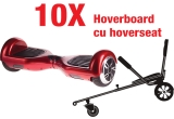 10 x Hoverboard cu hoverseat