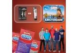 1 x city break in Amsterdam, 7 x masina de tuns sau un set de produse de ingrijire