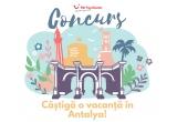 1 x vacanta All Inclusive in Antalya: 3 bilete de avion cu plecare din Bucuresti + cazare 7 nopti la hotel de 5* All Inclusive + transfer aeroport-hotel-aeroport