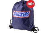 200 x Rucsac plin de daruri (rucsac + hanorac + șapca + prosop + breloc + 40 de batoane Snickers 50g)