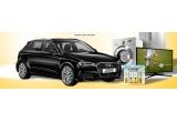 3 x mașina Audi A3, 13 x combina frigorifica Samsung RB31FSRNDSA, 13 x televizor LED Smart LG 123 cm 4K Ultra HD, 13 x mașina de spalat rufe Beko, 150 x excursie pentru 2 persoane la Cotnari, 2.730 x kit de vara Cotnari