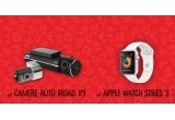 6 x Apple Watch Series 3, 6 x set 2 camere auto DVR Iroad X9 full HD senzori Sony Starvis wifi