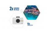 2 x excursiein Italia pentru 2 persoane, 10 x camera foto Polaroid Snap