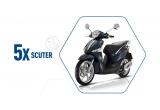 5 x scuter Piaggio Liberty 50 i-get