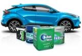 1 x mașina Toyota C-HR Hybrid, 56 x Bon combustibil Petrom de 150 lei