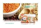 3 x cos cu produse Sanovita in valoare de 100 lei