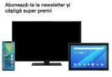1 x smartphone Huawei Mate 20 Pro, 1 x televizor Smart TV JVC, 1 x tableta Lenovo TAB 4