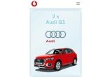 1 x Mașina Audi Q3, 5 x 1.000 euro, 100 x smartphone Samsung Galaxy S10+, 50 x voucher turistic de 1200 euro, 1000 x kit de vara cu produse Avene