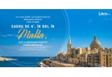 1 x city break de 4* la Malta (4 nopți cazare la Hotel Salini Resort 4* cu mic dejun + biletul de avion + bagaj de mana 10 kg)
