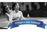 1 x excursie la Napoli cu 5 prieteni, 100 x carte cu rețete italiene Galbani