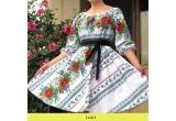 1 x rochie stilizata cu motive traditionale, 1 x ie Tradiționla Floarea Soarelui, 1 x bluza Steluța