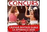 1 x invitație dubla la Festivalul Afterhills 2020