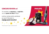 1 x purificator de aer Philips, 2 x periuta de dinti Philips Sonicare HealthyWhite, 3 x aparat de ras Philips Series 7000, 3 x masa de calcat Philips