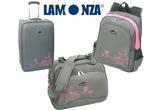 2 seturi de calatorie <b>LAMONZA</b>: un troler si un backpack sau un troler si o geanta de avion<br />