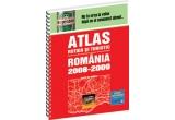 1 x Atlasului rutier si turistic Romania 2008-2009