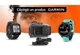 1 x camera Garmin Virb Ultra 30, 1 x ceas Garmin Forerunner 235, 1 x ceas Garmin Forerunner 30