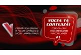 """1 x invitatie dubla la finala live """"Vocea Romaniei"""", 16 x boxa portabila Bluetooth iUni DF11 inscriptionata cu logo-ul Vocea Romaniei"""