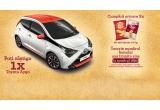 1 x mașina Toyota Aygo micro-car 2018 5 usi si cutie automata