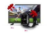 10 x televizor LED Vortex V24CD06, 30 x smartwatch Myria My 9511