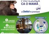 1 x voucher turistic pentru o excursie pe teritoriul Romaniei de 2365 lei, 3 x kit de produse Dettol
