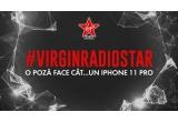 1 x iPhone 11 Pro, 6 x boxa portabila/ pereche de casti/ ceas-bratara de fitness/ hanorac/ tricou Virgin Radio