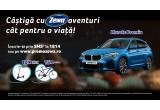 1 x mașina BMW X1 sDrive18i, 10 x trotineta electrica Xiaomi Mijia M365, 15 x bicicleta Merida Crossway