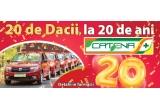 20 x masina Dacia Logan