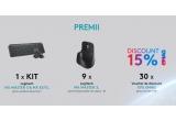 1 x mouse Logitech Mx Master 3 + tastatura Logitech Mx Master Key, 9 x mouse Logitech Mx Master 3, 30 x voucher eMAG de reducere 15%