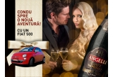 1 x masina Fiat 500, 15 x pachet Cherry, 15 x pachet Cuvee Gold, 15 x pachet Cuvee Imperial
