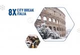 71 x voucher excursie in Italia de 5000 lei, 24000 x doza Peroni Nastro Azzurro 500 ml, 10 x city break Cinque Terre, 15 x city break Florenta, 15 x city break Bologna, 2 x city break Venetia, 15 x city break Amalfi, 15 x city break Como, 1 x city break Milano, 10 x city break Roma, 5 x city break Italia, 10 x city break Verona