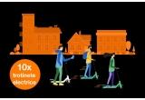 10 x trotineta electrica Xiaomi