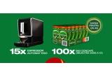 15 x espressor automat EGO, 100 x bax Doncafe - cafea pentru un an