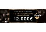 1 x 12.000 EUR, 12 x 1000 EUR, 366 x colier