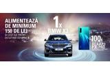 1 x mașina BMW X3 xDrive20d, 100 x Mobility Pack format din smartphone Huawei P30 Pro Dual SIM 128GB 6GB RAM 4G Midnight Black + pereche de casti bluetooth Huawei AM61 Sport Bluetooth Lite