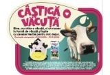 20 x pachet format din rucsac in forma de vacuța + 24 de pungi de cereale + 48 litri de lapte UHT