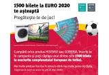 1500 x bilet la meciurile Campionatului European de Fotbal 2020