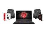 1 x Notebook / Laptop MSI Gaming 15.6'' GE65 Raider 9SE, 1 x Kit gaming MSI (rucsac + casti), 1 x Accesorii gaming MSI (rucsac + mouse)