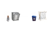 2 x masina de spalat vase Beko DFN26420X + blender Delimano Magic Bullet 7, 36 x cutie cu retete, 36 x cos de rufe alb/gri 90L