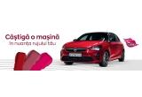 1 x masina Opel Corsa 5 uși Edition 1.2, 5 x Troler KRING plin cu produse de machiaj Avon