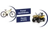 1 x ATV CF Moto 450L V1 euro 3, 36 x Bicicleta MTB 29-er Omega Legion, 24.000 x Pahar Bergenbier, 40.000 x Sticla bere Bergenbier 0.5l, 11.600 x Geanta termoizolanta, 172.800 x Doza bere Bergenbier, 28.800 x Pahar Bergenbier