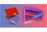 15 x televizor LED Smart Android Philips 43PUS7304/12 4K Ultra HD 139 cm, 25 x 500 euro, 100 x voucher eMAG de 400 lei, 1000 x abonament HBO Go de 6 luni