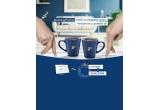 1 x voucher pentru achizitie piese de mobilier de 1000 euro, 1000 x set Tchibo format din 2 cani albastre Tchibo + pchet de cafea Tchibo + cafea instant Tchibo Exclusive + 2 pliculete de zahar
