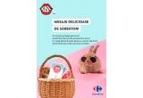 84 x voucher pentru cumparaturi Carrefour de 150 lei