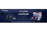 20 x premiu in valoare de 2.000 lei, 30 x tricou oficial LaLiga, 100 x geanta sport CLEAR