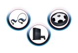 70 x pereche casti sport Pepsi, 2 x consola Playstation 4 Pro, 112 x minge Air disc rotativa