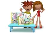1 x set de carti pentru copii
