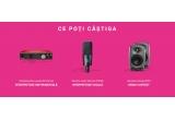 1 x Interfața audio Focusrite 8i6 3rd Gen, 1 x Microfon Audio-Technica AT4040, 1 x 2 Monitoare Genelec 8010