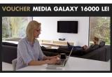 1 x voucher Media Galaxy de 16000 lei, 4 x voucher Minionette de 5500 lei, 1 x voucher electronice Media Galaxy de 6000 lei, 7 x voucher Media Galaxy de 400 lei, 14 x voucher Somproduct de 1600 lei, 98 x voucher Optimef de 800 lei, 350 x voucher Sneaker Industry de 500 lei, 6860 x voucher Altex de 50 lei, 2450 x voucher Arta Ceaiului de 50 lei, 490 x voucher Curtea Veche de 100 lei