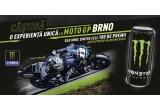1 x excursie catre MotoGP Brno pentru 2 persoane + acces VIP, 50 x tricou Monster, 50 x sapca Monster